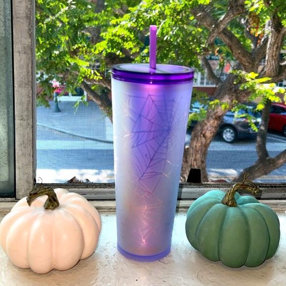Starbucks Fall 2021 Purple Spiderweb Tumbler Limited Edition